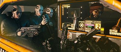 В Cyberpunk 2077 люди ходят с оружием на плечах и это обычное дело