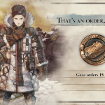 Достижение/трофей That's an order, soldier! в Valkyria Chronicles 4