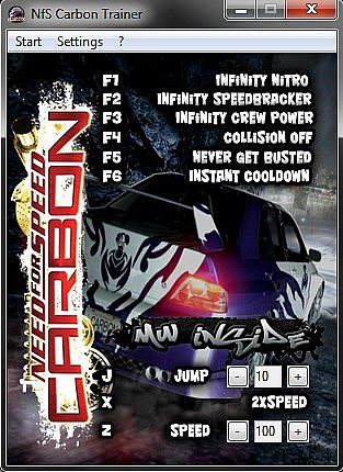 download nfs carbon trainer