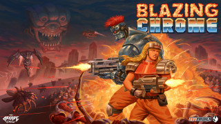 Арт Blazing Chrome