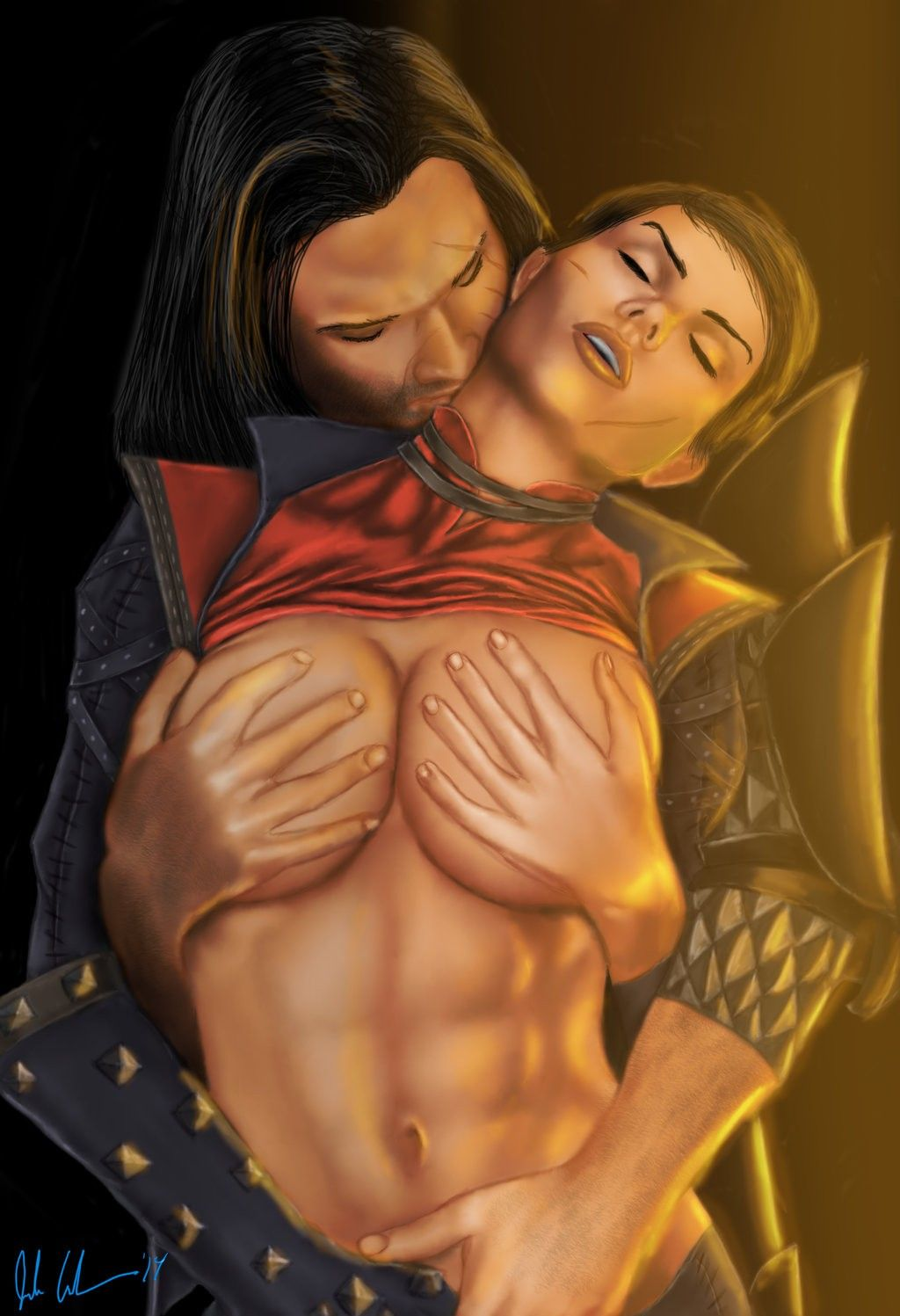 Dragon Age Merrill Hentai