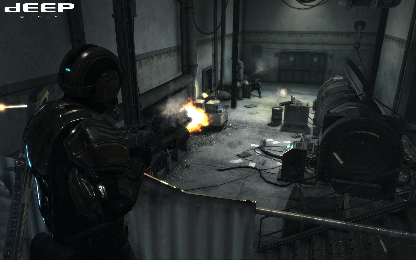 third person shooter video game - HD1280×800