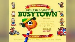 Скриншоты Richard Scarry's BusyTown (1994) / Картинка 1