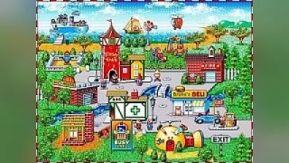 Скриншоты Richard Scarry's BusyTown (1994) / Картинка 2
