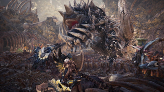 Скриншот Monster Hunter: World