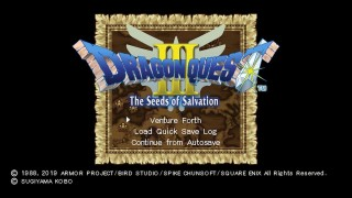 Скриншоты Dragon Quest III: The Seeds of Salvation
