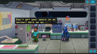 Скриншоты Odysseus Kosmos and his Robot Quest: Adventure Game / Картинка 70