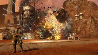 Скриншот Red Faction Guerrilla Re-Mars-tered