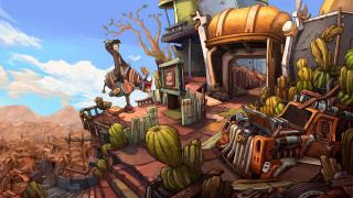 Скриншоты Deponia: The Complete Journey / Картинка 62