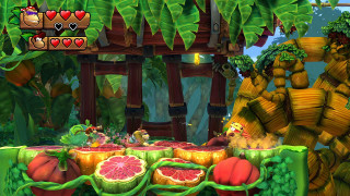 Скриншот Donkey Kong Country: Tropical Freeze