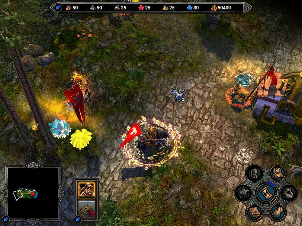 В Heroes of Might and Magic V: Tribes of the East нет звука