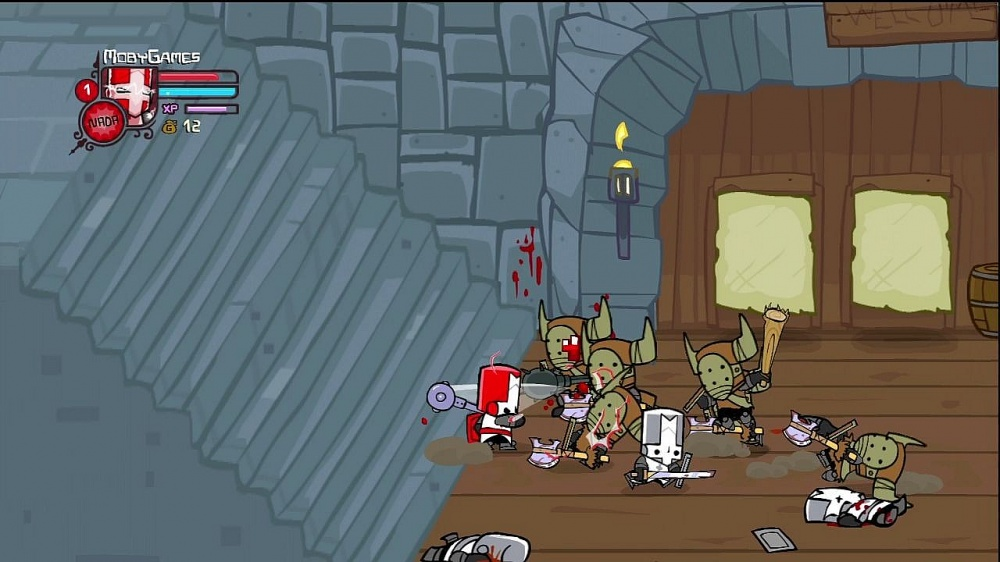 Castle Crashers не работает управление