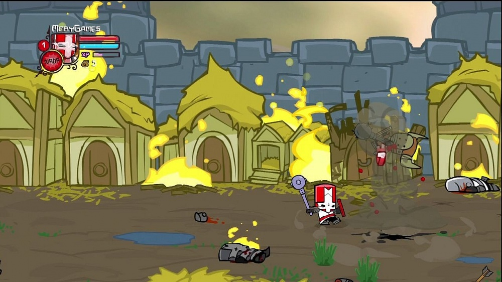 Скачанная с торрента Castle Crashers не работает