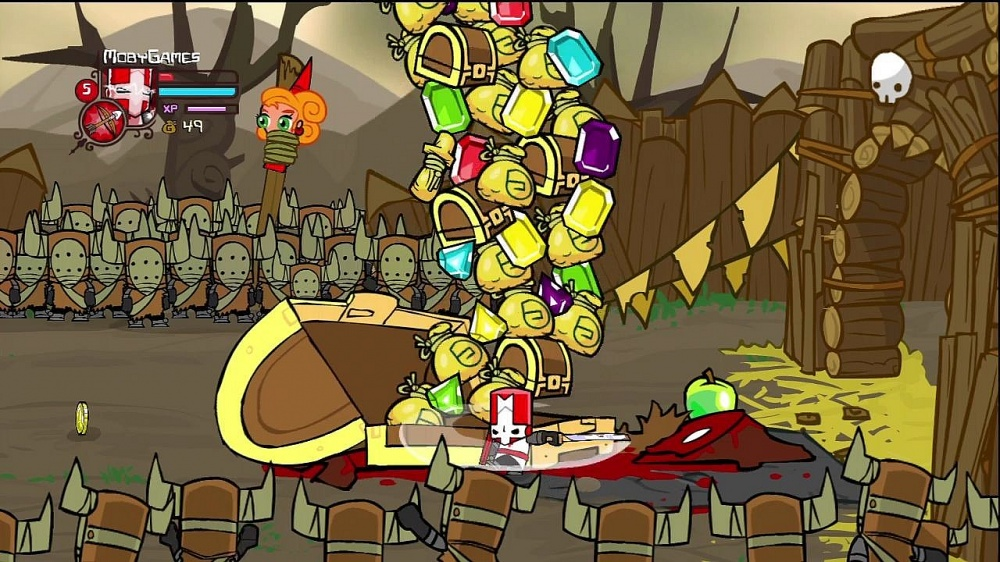 Castle Crashers не запускается