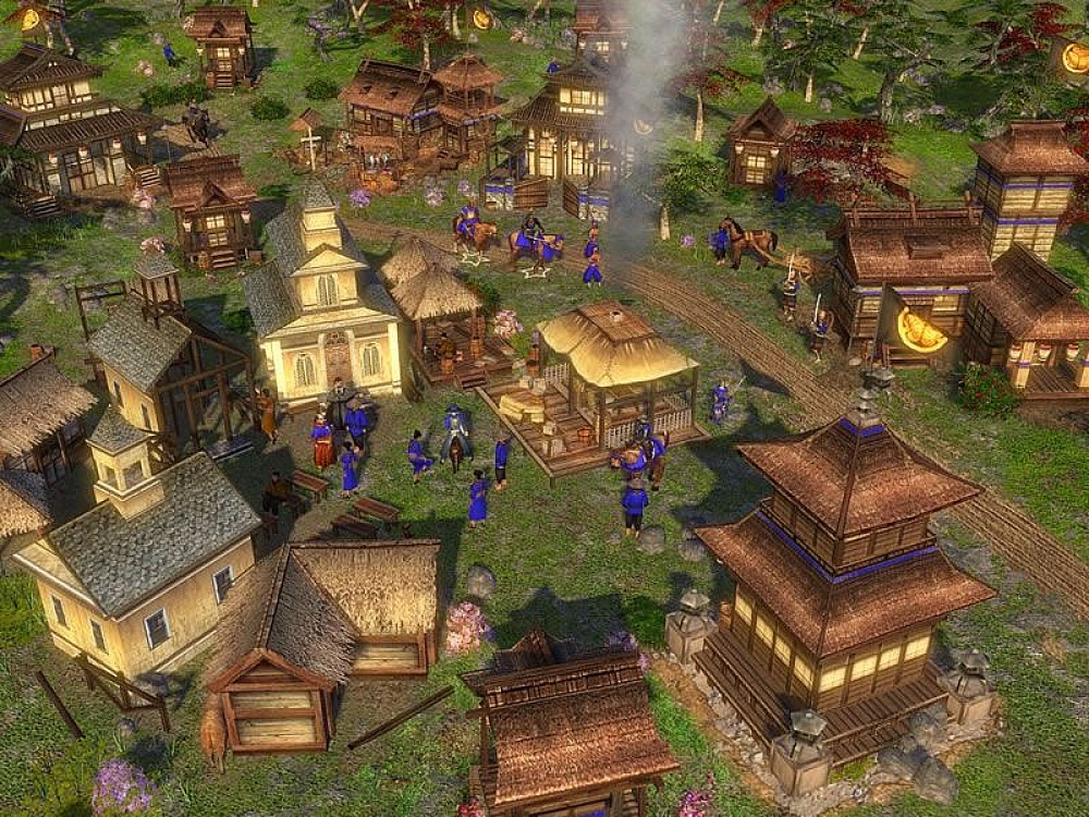Age of empire3 asian dynasties