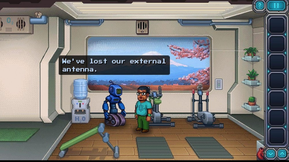 Odysseus Kosmos and his Robot Quest: Adventure Game вылетает