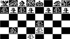 Microchess - игра для TRS-80 CoCo