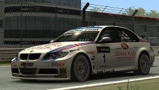 Race: The Official WTCC Game похожа на GRID