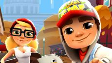 Subway Surfers - игра для iPhone