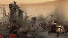 Warhammer 40,000: Dawn of War похожа на Command & Conquer 3: Tiberium Wars