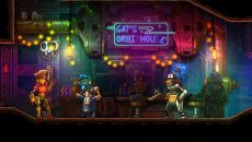 SteamWorld Dig похожа на SteamWorld Quest: Hand of Gilgamech