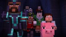 Minecraft: Story Mode похожа на Batman: The Telltale Series