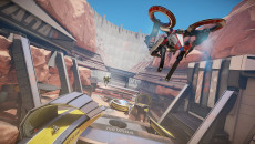 RIGS: Mechanized Combat League похожа на TimeShift