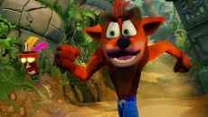 Crash Bandicoot N. Sane Trilogy похожа на Crash Team Racing Nitro-Fueled