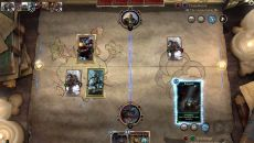 Elder Scrolls: Legends - Heroes of Skyrim похожа на Gwent: The Witcher Card Game