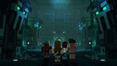 Minecraft: Story Mode Season Two - Episode 2: Giant Consequences похожа на Batman: The Telltale Series