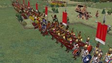 Field of Glory II похожа на Rome: Total War - Alexander