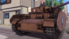 Girls und Panzer: Dream Tank Match похожа на World of Tanks