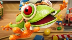 Frogger in Toy Town - игра от компании Konami Digital Entertainment