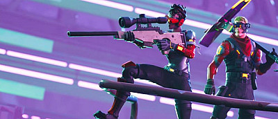 В Fortnite появился режим «Песочницы» со свободным строительством, моментальным воскрешением и парными пистолетами