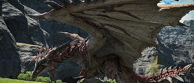 Легендарный Раталос из Monster Hunter: World прибыл в Final Fantasy 14
