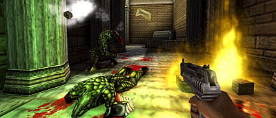 Олдскульный шутер Turok 2: Seeds of Evil теперь можно пройти в команде из 16-ти человек