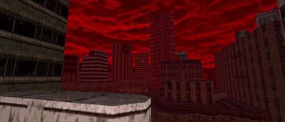 Doom 2 объединили с Quake в одной игре. Появились новые карты и монстры