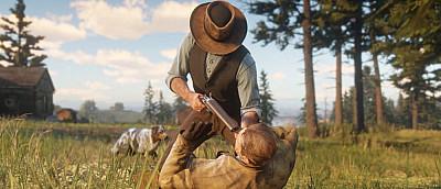 Появился новый геймплей Red Dead Redemption 2 в 4K — ковбои, перестрелки в Slow-Mo и ночной снегопад