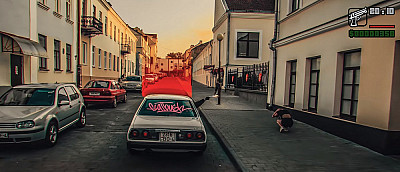 Белорусы спародировали GTA San Andreas. Получилось ооочень годно!