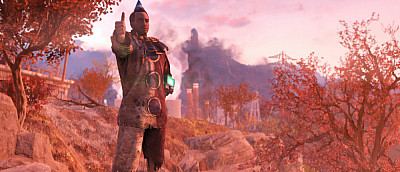 Игрок стал бессмертным богом в Fallout 76 и не может убить своего персонажа. Его не берет даже атомная бомба