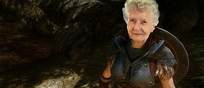 Бабуля-геймерша боится не дожить до выхода TES 6. Фанаты просят увековечить ее в игре