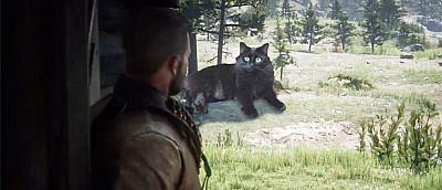 Геймер добавил в Red Dead Redemption 2 своего кота, а тот съел главного героя. Другие игроки заливаются смехом