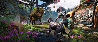 Посмотрите шесть минут нового геймплея Far Cry New Dawn — стелс, езда на машине и пиломет