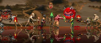 «В топку пиксели» — нестареющую Doom прокачали до HD-графики