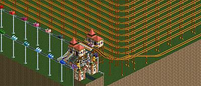 Геймер создал невероятно огромный аттракцион в игре. Поездка на нем отнимет у вас 12 лет жизни — видео