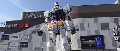 Бывшие сотрудники Bandai обокрали гигантского робота на 100 млн йен