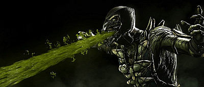 Разработчики Mortal Kombat 11 «спалили» еще одного бойца — Рептилию. В игре будут секретные персонажи