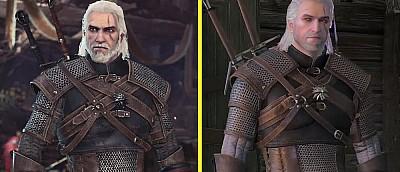 Один ведьмак, две игры. Посмотрите, как Геральт из The Witcher 3 отличается от Геральта из Monster Hunter: World (видео)