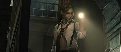 Этот мод превратит нуарный костюм Клэр из Resident Evil 2 в вульгарный: уберёт брюки и расстегнёт рубашку (скриншоты)