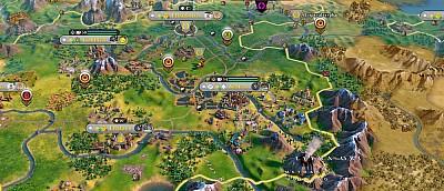 Арт-директор Civilization 6 на спор переделал игровую графику, сделав её похожей на Civilization 5
